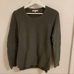 Madewell Khaki Green Cotton Sweater Medium
